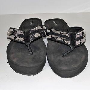 Coach New York Thong Sandals Flip Flops